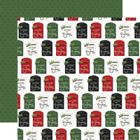 Carta Bella Paper - Home For Christmas Collection - 12 x 12 Double Sided Paper - Letters To Santa