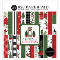 Carta Bella Paper - Home For Christmas Collection - 6 x 6 Paper Pads