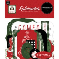 Carta Bella Paper - Home For Christmas Collection - Ephemera