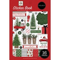 Carta Bella Paper - Home For Christmas Collection - Sticker Book