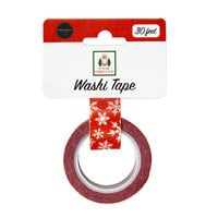 Carta Bella Paper - Home For Christmas Collection - Washi Tape - Christmas Snowflake