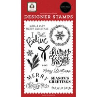 Carta Bella Paper - Home For Christmas Collection - Clear Photopolymer Stamps - I Believe
