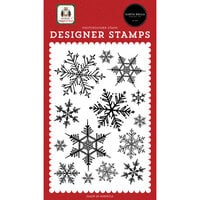 Carta Bella Paper - Home For Christmas Collection - Clear Photopolymer Stamps - Snowflake Season
