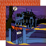 Carta Bella Paper - Haunted House Collection - Halloween - 12 x 12 Double Sided Paper - Haunted House