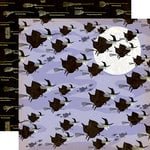 Carta Bella Paper - Haunted House Collection - Halloween - 12 x 12 Double Sided Paper - Witching Hour