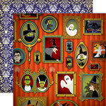 Carta Bella Paper - Haunted House Collection - Halloween - 12 x 12 Double Sided Paper - Portrait Gallery