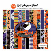 Carta Bella Paper - Haunted House Collection - Halloween - 6 x 6 Paper Pad