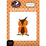 Carta Bella Paper - Haunted House Collection - Halloween - Designer Dies - Night Owl