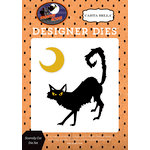 Carta Bella Paper - Haunted House Collection - Halloween - Designer Dies - Scaredy Cat