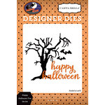 Carta Bella Paper - Haunted House Collection - Halloween - Designer Dies - Happy Halloween Tree