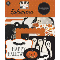Carta Bella Paper - Halloween Market Collection - Ephemera