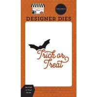 Carta Bella Paper - Halloween Market Collection - Designer Dies - Bat Trick or Treat