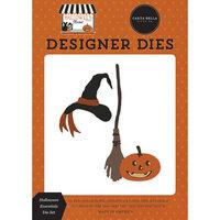 Carta Bella Paper - Halloween Market Collection - Designer Dies - Halloween Essentials
