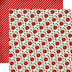 Carta Bella - Have a Merry Christmas Collection - 12 x 12 Double Sided Paper - Poinsettias