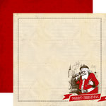 Carta Bella - Have a Merry Christmas Collection - 12 x 12 Double Sided Paper - Santa Claus