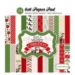 Carta Bella - Have a Merry Christmas Collection - 6 x 6 Paper Pad