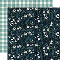 Carta Bella Paper - Home Again Collection - 12 x 12 Double Sided Paper - Home Floral