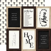 Carta Bella Paper - Home Again Collection - 12 x 12 Double Sided Paper - 4 x 6 Journaling Cards