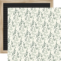 Carta Bella Paper - Home Again Collection - 12 x 12 Double Sided Paper - Leaves