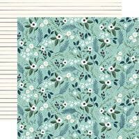 Carta Bella Paper - Home Again Collection - 12 x 12 Double Sided Paper - Lovely Floral