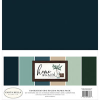 Carta Bella Paper - Home Again Collection - 12 x 12 Paper Pack - Solids