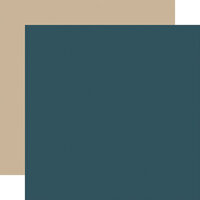Carta Bella Paper - Home Again Collection - 12 x 12 Double Sided Paper - Blue