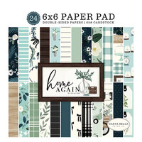 Carta Bella Paper - Home Again Collection - 6 x 6 Paper Pad