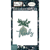 Carta Bella Paper - Home Again Collection - Designer Dies - Thanks Vase