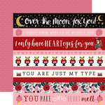 Carta Bella Paper - Hello Sweetheart Collection - 12 x 12 Double Sided Paper - Border Strips