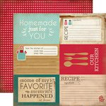 Carta Bella Paper - Home Sweet Home Collection - 12 x 12 Double Sided Paper - 4 x 6 Journaling Cards