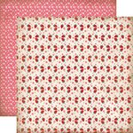Carta Bella Paper - Home Sweet Home Collection - 12 x 12 Double Sided Paper - Strawberry Shortcake
