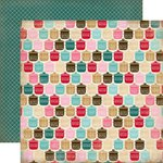 Carta Bella Paper - Home Sweet Home Collection - 12 x 12 Double Sided Paper - Baking Ingredients