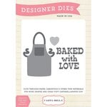 Carta Bella Paper - Home Sweet Home Collection - Designer Dies - Baked with Love