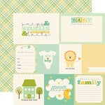 Carta Bella Paper - It's a Boy Collection - 12 x 12 Double Sided Paper - Journaling Cards