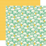 Carta Bella Paper - It's a Boy Collection - 12 x 12 Double Sided Paper - Sleep Tight