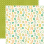 Carta Bella Paper - It's a Boy Collection - 12 x 12 Double Sided Paper - Counting Numbers
