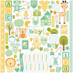 Carta Bella Paper - It's a Boy Collection - 12 x 12 Cardstock Stickers - Elements