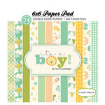 Carta Bella Paper - It's a Boy Collection - 6 x 6 Paper Pad