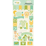 Carta Bella Paper - It's a Boy Collection - Chipboard Stickers