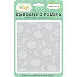 Carta Bella Paper - It's a Boy Collection - Embossing Folder - Night Sky