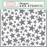 Carta Bella Paper - It's a Boy Collection - 6 x 6 Stencil - Stars
