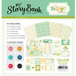 Carta Bella Paper - It's a Boy Collection - 12 x 12 My StoryBook Pocket Page Kit