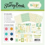 Carta Bella Paper - It's a Boy Collection - 12 x 12 My StoryBook Pocket Page Kit