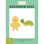 Carta Bella Paper - It's a Boy Collection - Designer Dies - Duck and Turtle