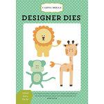 Carta Bella Paper - It's a Boy Collection - Designer Dies - Animal Set 4