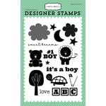 Carta Bella Paper - It's a Boy Collection - Clear Acrylic Stamps - Baby Boy