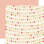 Carta Bella Paper - It's a Girl Collection - 12 x 12 Double Sided Paper - Baby Girl Onesies