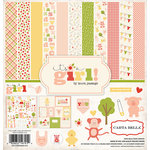 Carta Bella Paper - It's a Girl Collection - 12 x 12 Collection Kit