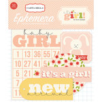 Carta Bella Paper - It's a Girl Collection - Ephemera