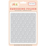 Carta Bella Paper - It's a Girl Collection - Embossing Folder - Onesie